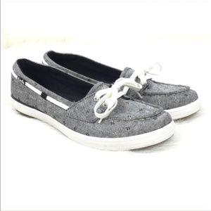 Keds Glimmer Slip On Boat Shoes NEW Size 6.5M